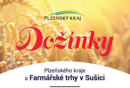Dožínky Plzeňského kraje a Farmářské trhy v Sušici