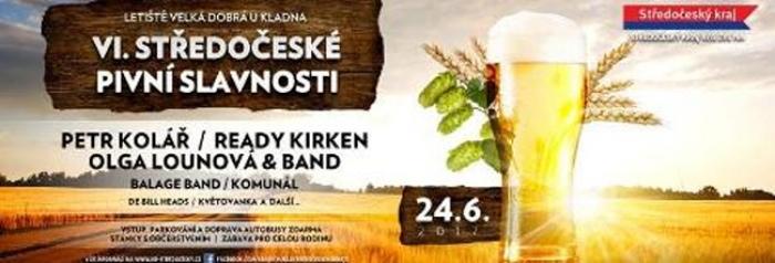 Přijďte na Středočeské pivní slavnosti na letiště do Velké Dobré