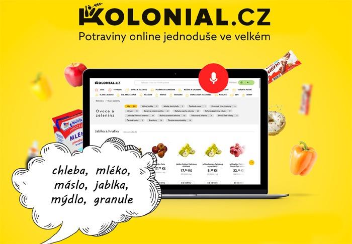 Kolonial.cz testuje ovládání hlasem