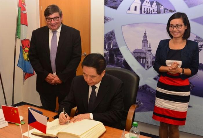 Jihočeský kraj jednal o spolupráci v oblasti kultury s čínskou provincií Henan