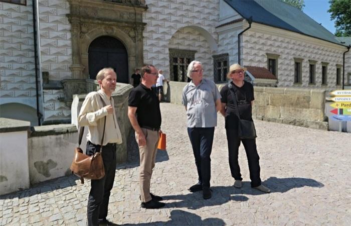 Špičky české architektury posuzují potenciál pardubického zámku