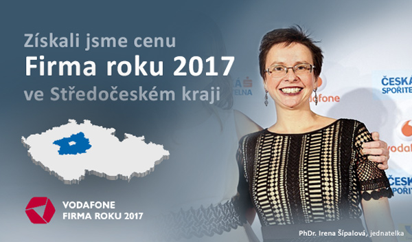 Titul Firma roku 2017 ve Středočeském kraji získala mladoboleslavská firma Hönigsberg & Düvel Datentechnik Czech s.r.o.