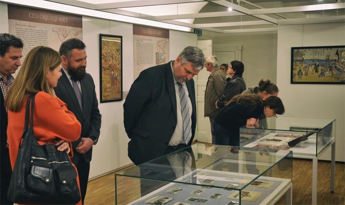 Ve Veigertovském domě začala výstava o slavných českých cestovatelích