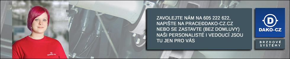 DAKO-CZ Třemošnice - volná místa