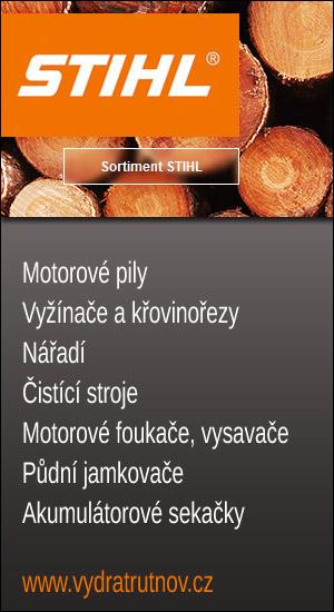 STIHL Trutnov - motorová lesní a zahradní technika