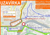 Dopravní situace: Jihlava - 01. 07. v 18:00