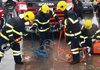 Na požářišti bytě v Ratiboři hasiči našli uhořelou osobu