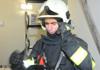 Požár kamionu u 51. kilometru dálnice D11 ochromil dopravu do Prahy