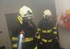 Hasiči likvidovali požár odsávacího systému v průmyslovém objektu v Kostelci nad Orlicí