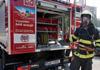 Profesionální hasiči z Telče zachránili na Nový rok srnku