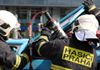 Druhý stupeň poplachu při požáru ve výzkumném ústavu ve Vestci