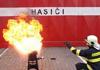 Cvičný požár v dětském domově ve Zruči nad Sázavou prověřil souhru složek IZS