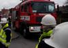 Požár rozsáhlého objektu v Mělníku hasilo osmnáct jednotek i s Cobrou
